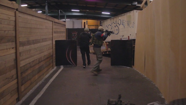 CQB airsoft bij Chapter Four