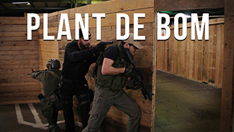 Airsoft bij Chapter Four – Plant de bom