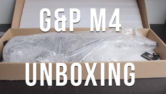 G&P m4 RAS 6 position stock unboxen!